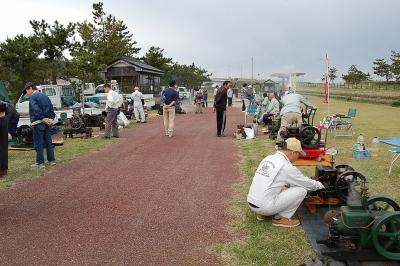 石油記念公園発動機運転会