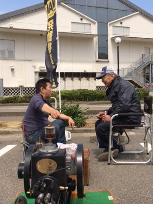 富山県愛好会と発動機談義