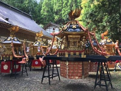 三井町の合社祭り