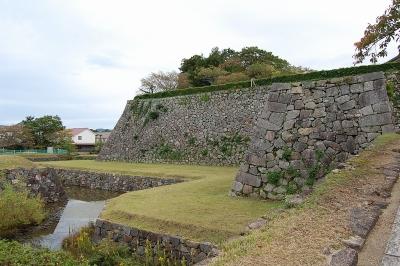 丹波篠山城本丸石垣