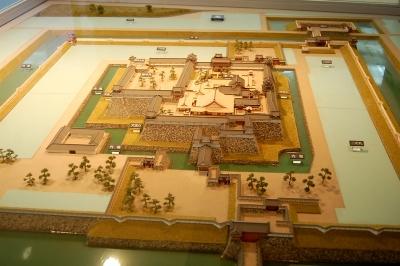 丹波篠山城の模型
