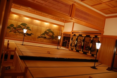 篠山城大書院の中
