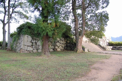 篠山城天守台石垣