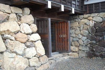福知山城天守入り口