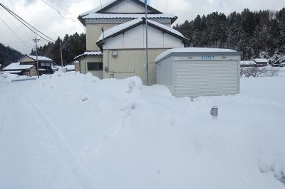 本日の積雪状況
