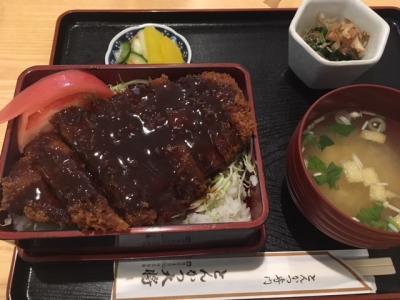 会津のソースかつ丼