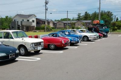 道の駅千里浜旧車ミーティング