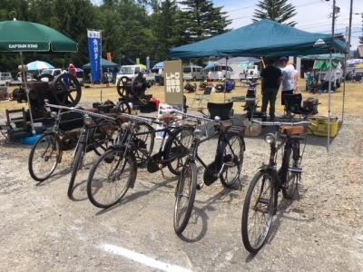 古い自転車ミーティング