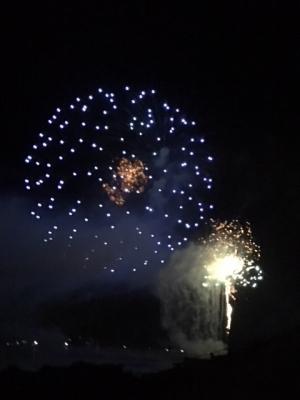 門前町の花火