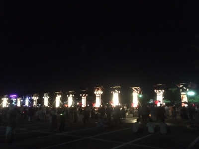 輪島大祭のキリコ