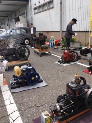 JA松任農業祭発動機運転会