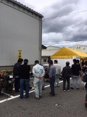 JA松任農業祭・発動機運転会