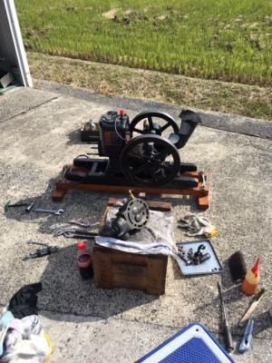 石油発動機整備