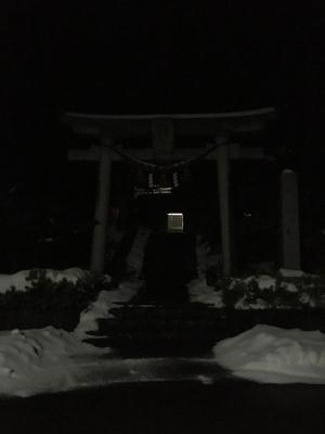 大みそかの神社