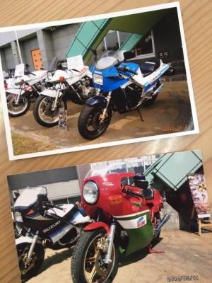 バイクの写真