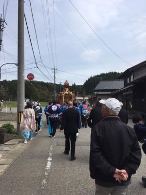 上之郷社祭り