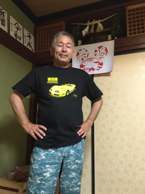 WAM2019のTシャツ