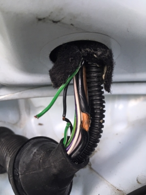 Fiat500の断線修理