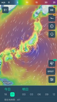 今回の台風