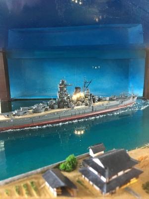 戦艦大和ジオラマ