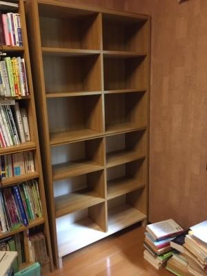 本棚修理完了