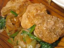 豚ヒレと野菜のソテー