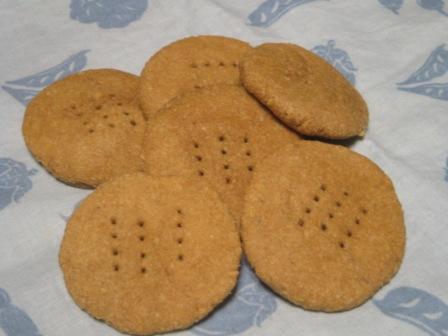 雪花菜シナモンクッキー