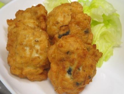 鶏と豆腐のナゲット