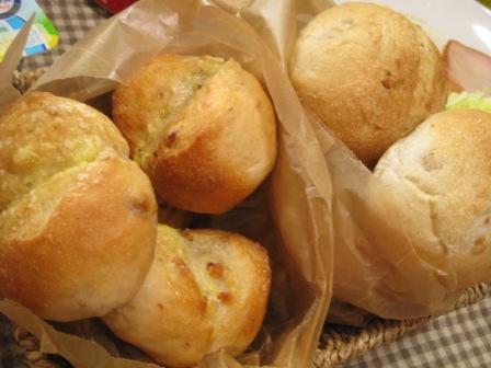 朝用くるみパン