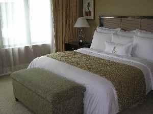 クアラルンプールリッツカールトン ベッドルーム