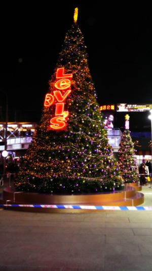 西單的聖誕樹