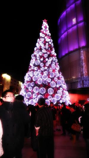 王府井的聖誕樹
