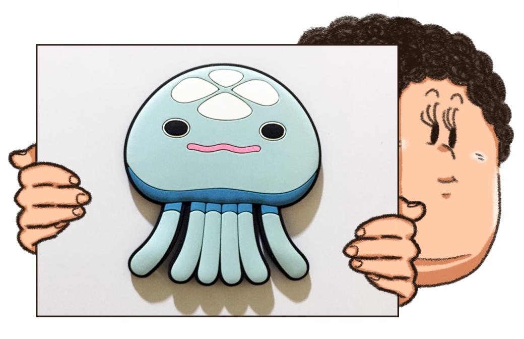 クラゲのマグネット