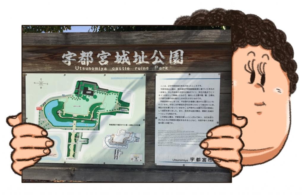 宇都宮城址公園