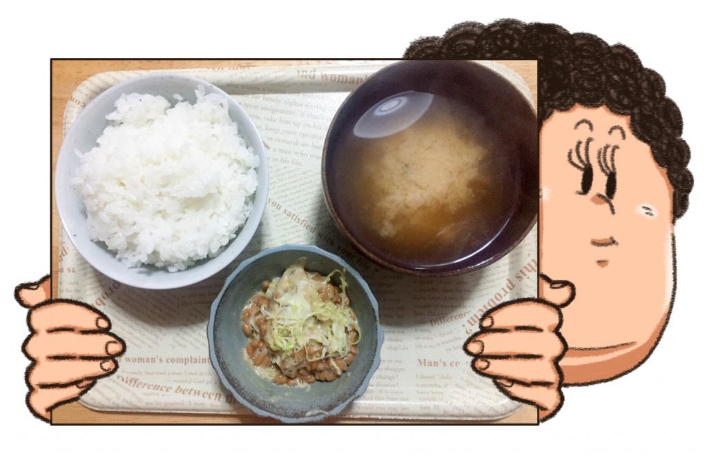 酢キャベツ 納豆
