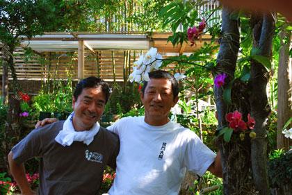 大将と石崎さん