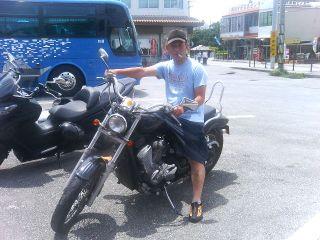 常務バイク