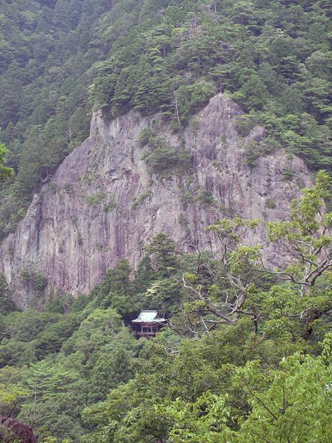 鳳来寺全景