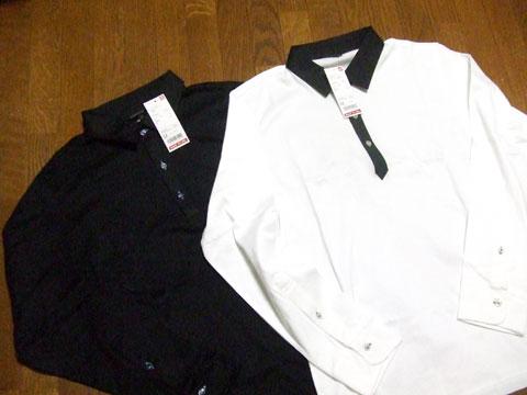 マーセライズポロシャツ(長袖)