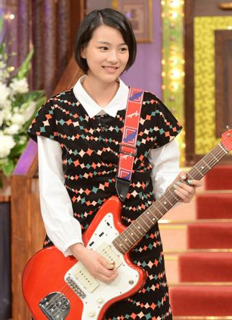 あまちゃんはギターが特技!