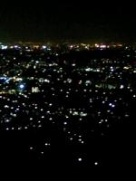 油山の夜景