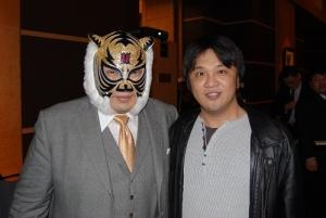 タイガーマスク&正体?