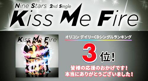 九星隊2ndシングル