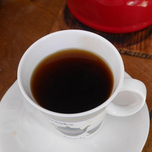 旨いコーヒーの出来上がり