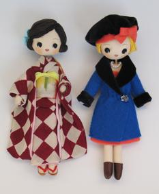 モダンガールのお人形