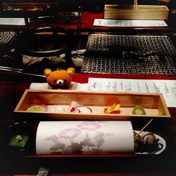 20130828 旅館での夕食・前菜
