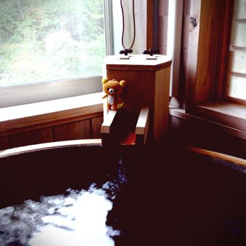20130829 部屋風呂で朝風呂堪能