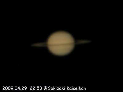 4/29の土星