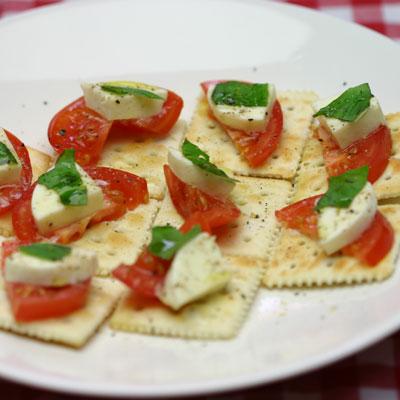 チーズ トマト