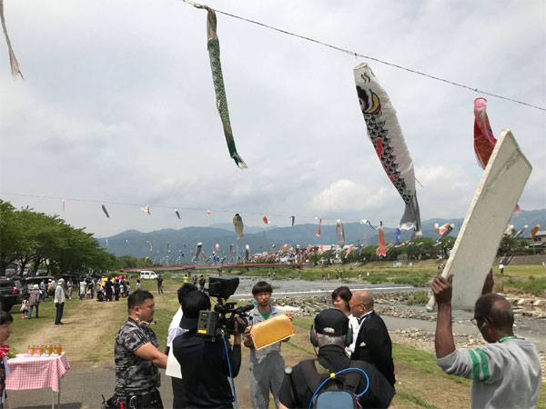 東海テレビ スイッチって番組の東海3県ふるさとイチバン!ご自慢デーの撮影